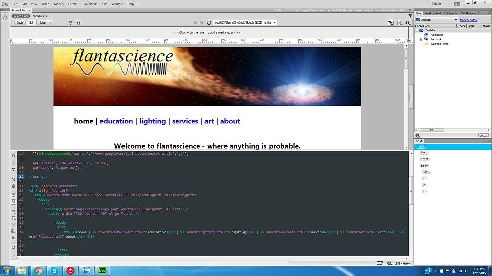 Jim Flannery - J.F. Web Development