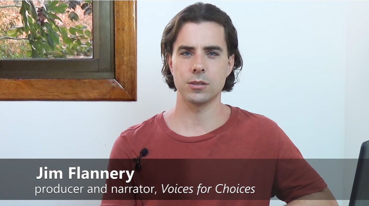 jim flannery voices for choices