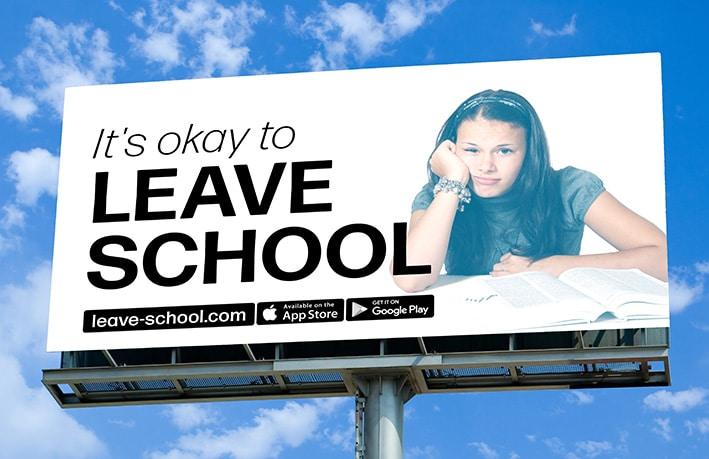 leave school app