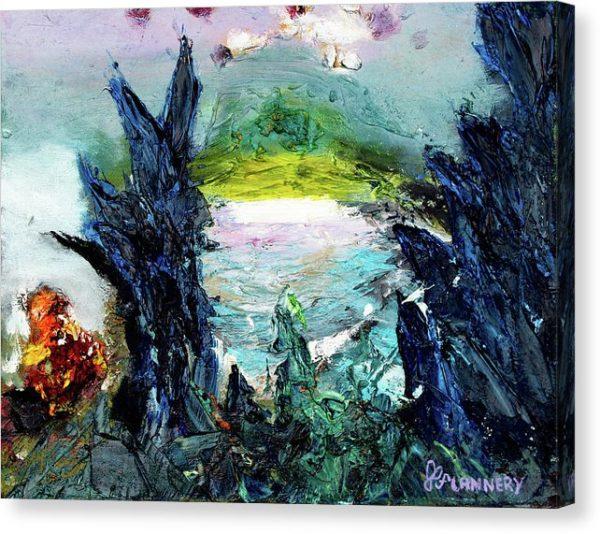 horizonland oil on canvas