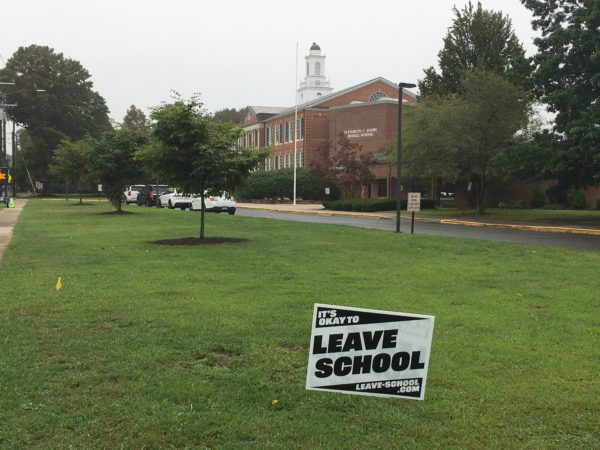 guilford middle school leave school