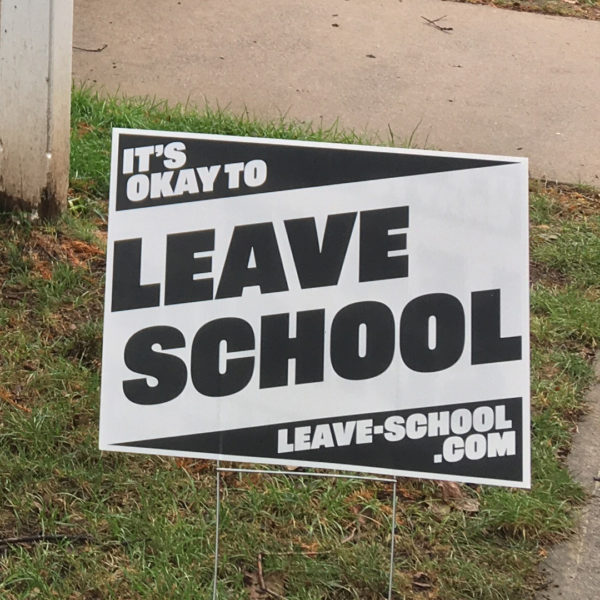 its okay to leave school